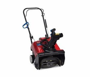 BRAND NEW TORO SINGLE STAGE SNOW BLOWER - SNOW THROWER