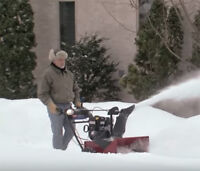 snow blower service were there within 3 hours