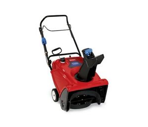 BRAND NEW Toro 721QZE Power Clear Single Stage Snowthrower