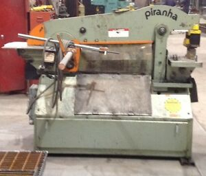 70 TON PIRANHA IRONWORKER MODEL P70