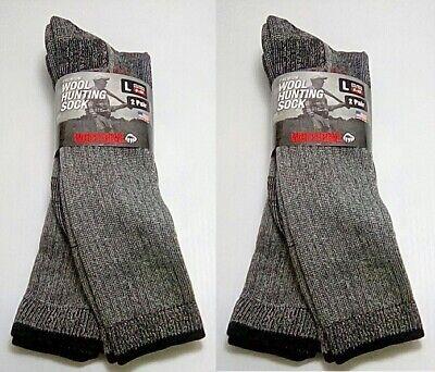 Wolverine Merino Wool Over-the-Calf Boot Socks, Large, 4 pr $24.99+FREE SHIPPING