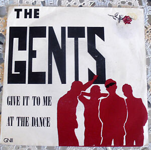 """UK Mod band - The Gents 7"""" - Give It To Me - 1986 JG1 Blacktown Area Preview"""