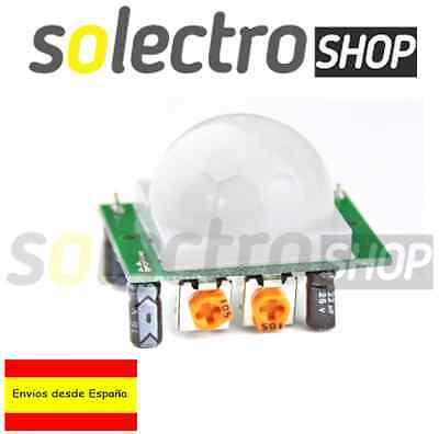 HC-SR501 Modulo Detector De Movimiento Sensor Infrarrojo HCSR501 PIR Arduino S03