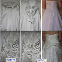 CHANGE ZIPPER TO CORSET.Southwood,Calgary,403-456-0780