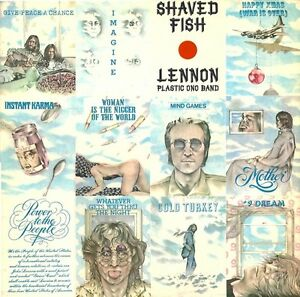 John Lennon - Shaved Fish (Hits) Import Vinyl Record