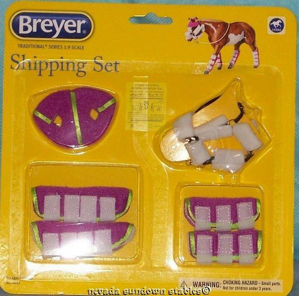 Breyer model Horse Accessories Shipping Set