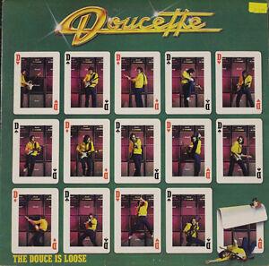 Doucette - The Douce is Loose Vinyl Record LP