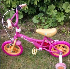 Girls bike - Barbie (suit 3-5 years approx)