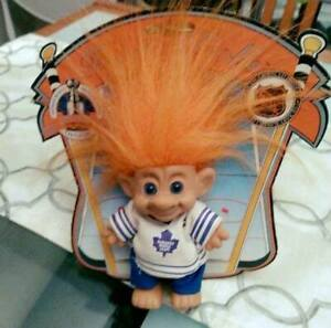 Official NHL 1993 Wow Wee Toronto Maple Leafs Forest Trolls Doll