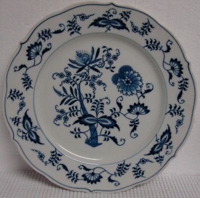Blue Danube BLUE ONION Dinner Plate RIBBON BACKSTAMP More Items Available
