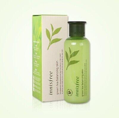 Innisfree Grüner Tee Balancing Skin Toner Feuchtigkeitsspendende pflegende