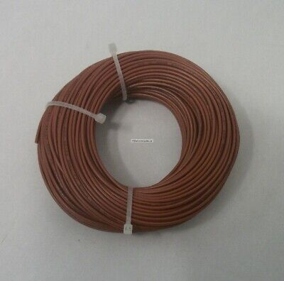 22 Awg Tinned Copper Stranded Electrical Hook Up Wire 100 Feet Brown Ul1007