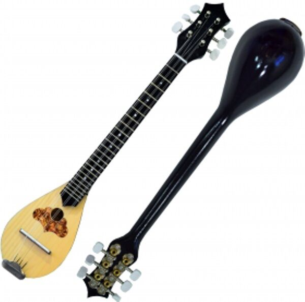 Baglama Baglamas Greek Traditional Music Instrument Handmade Small Bouzouki