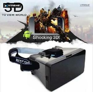 XTREME® VR VUE Virtual Reality 3D Glasses Viewer - Black