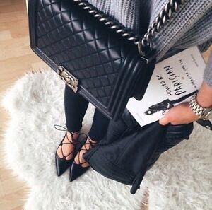 Genuine Chanel Le Boy Quilted Lamb Ruthenium Shoulder Bag Mentone Kingston Area Preview