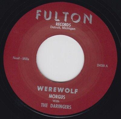 MORGUS w/ The DARINGERS Werewolf FULTON 7