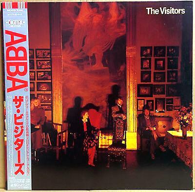 "ABBA ""The Visitors"" rare 1981 Japanese Digital pressing Lp w/Obi! Bjorn Benny M-"