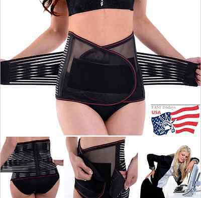 Women's Postpartum Belly Recovery Girdle Tummy Wrap Corset Body Shaper Belt Band ()