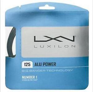 Luxilon Alu Power Tennissaite 12m (1,25mm) (NEU Rollenware)