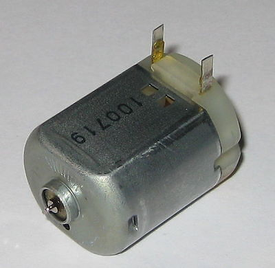 Miniature Project Dc Motor - Mabuchi Fc-130 - 12 Vdc - 4800 Rpm - Short Shaft