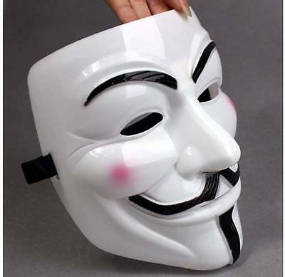 V for Vendetta Mask Guy Fawkes Anonymous Cosplay Masquerade Halloween Party Cool - Halloween Mask Vendetta