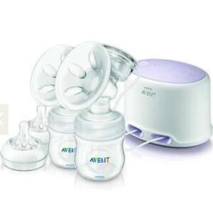Gently used Avent double electric breast pump Kitchener / Waterloo Kitchener Area image 1