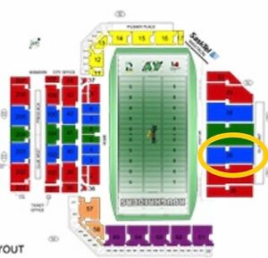 2 Rider Tickets for sale. Oct 22. Section 26