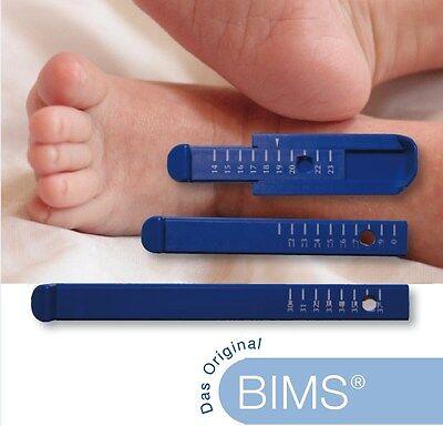 NEU  BIMS ® - Fuß- und Innenschuhmessgerät / Messhilfe Füße messen