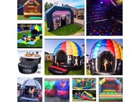 Disco Domes, Inflatable Nightclubs, Bouncy Castles and much more for hire