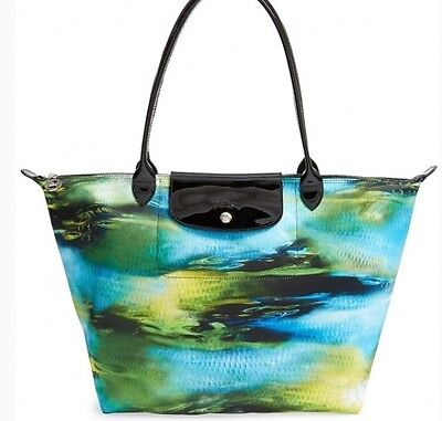 NEW Longchamp le pliage Neo Fantaisie LARGE Tote Bag Limited