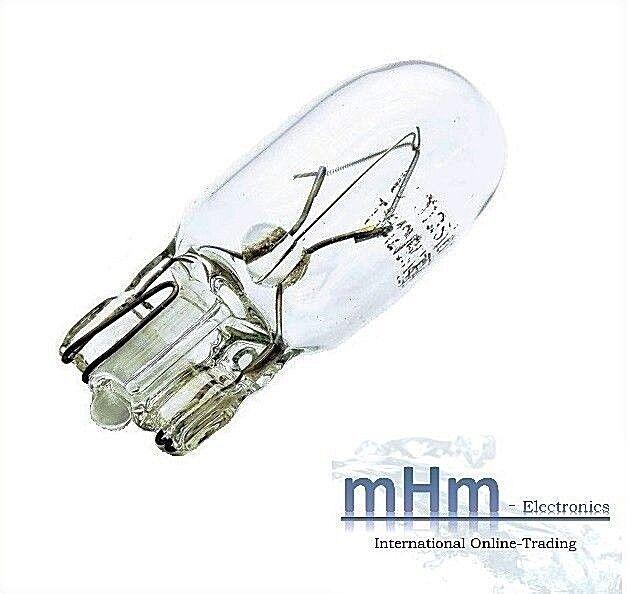 10 x T10 Lampe Lima w5w 5 Watt Standlicht Gl/ühbirne Angebot neu OVP St/ück