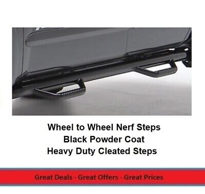 Smittybilt Cleated Nerf Steps for 2007-2014 Toyota FJ Cruiser, Pair Smittybilt Nerf Steps