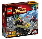 Captain America Tank Captain America LEGO Minifigures