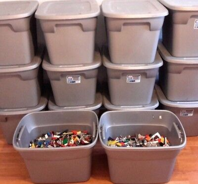 1 Pound CLEAN RANDOM 💯% LEGO LOT MIX LBS Bulk AWESOME Tools STEM educational