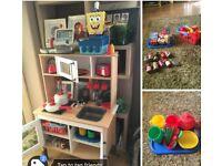Ikea wooden children kitchen