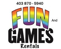 Jazz up the wedding with Games from Fun and Games Rentals!