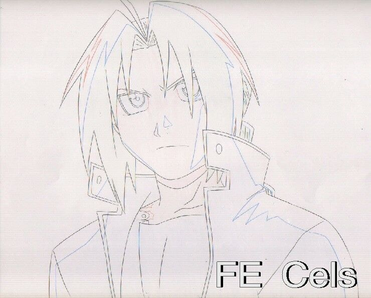 FULL METAL ALCHEMIST SKETCH ORIGINAL ANIMATION DRAWING