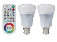 iDual bulbs with remote control
