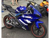 YAMAHA YZF R-125 18K MILES LOADS OF MODS DONE (R6 REPLICA) PERFECT FOR LEARNERS
