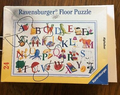Ravensburger Floor Puzzle Alphabet 24 Piece Richard Cole