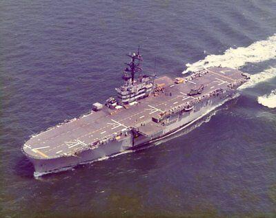 USS GUADALCANAL 8X10 PHOTO LPH-7 NAVY US USA MILITARY AMPHIBIOUS ASSAULT SHIP