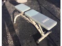 York Fitness Height Adjustable Bench