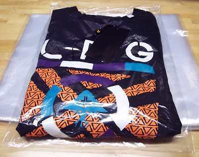 9 X 12 Poly Clear Plastic T-shirt Apparel Bags 1 Mil 2 Back Flap Lock 10-500