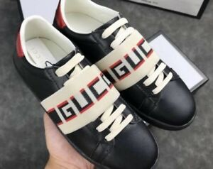 GUCCI Ace Leather Shoes