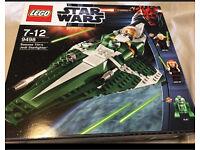 Lego Star Wars Saesee Tinn's Jedi starfighter