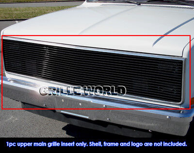 Gmc Suburban Grill - 81-87 Chevy GMC Pickup/Suburban/Blazer/Jimmy Phantom Black Billet Grille
