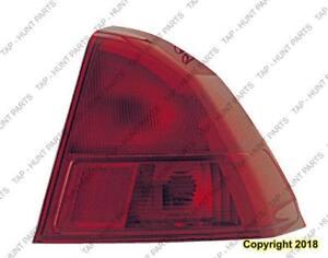 Tail Light Passenger Side Sedan Acura EL 2001-2003