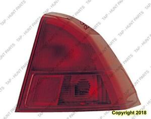 Tail Light Passenger Side Sedan High Quality Acura EL 2001-2003
