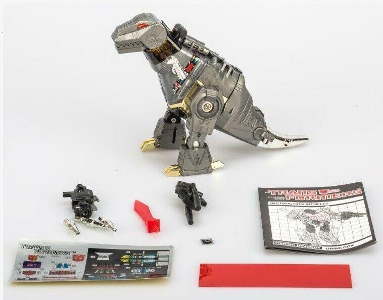 как выглядит Transformers G1 grimlock dinobot reissue Mint action figure Gift фото