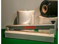 Packer Heatsealer with Sealing tube